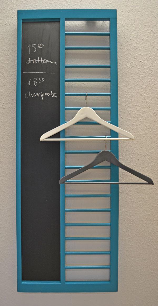 das seitenteil - Garderobe Selber Machen