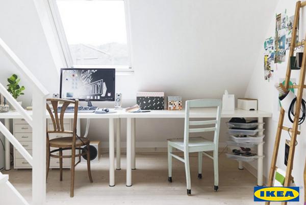 Mein Büro bei IKEA