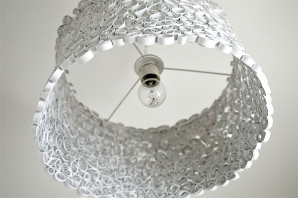 Papierlampe selber machen