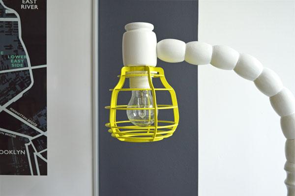 Alt und Neu kombinieren Lampe