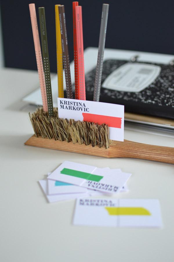 DIY Ordnung Schreibtisch