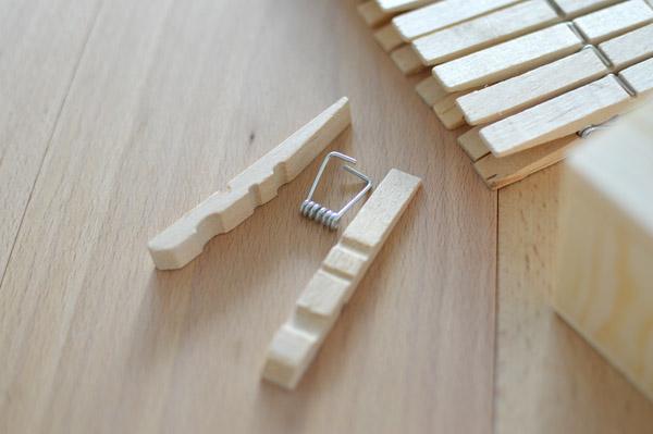 DIY Kerzenhalter aus Wäscheklammern - ICH DESIGNER