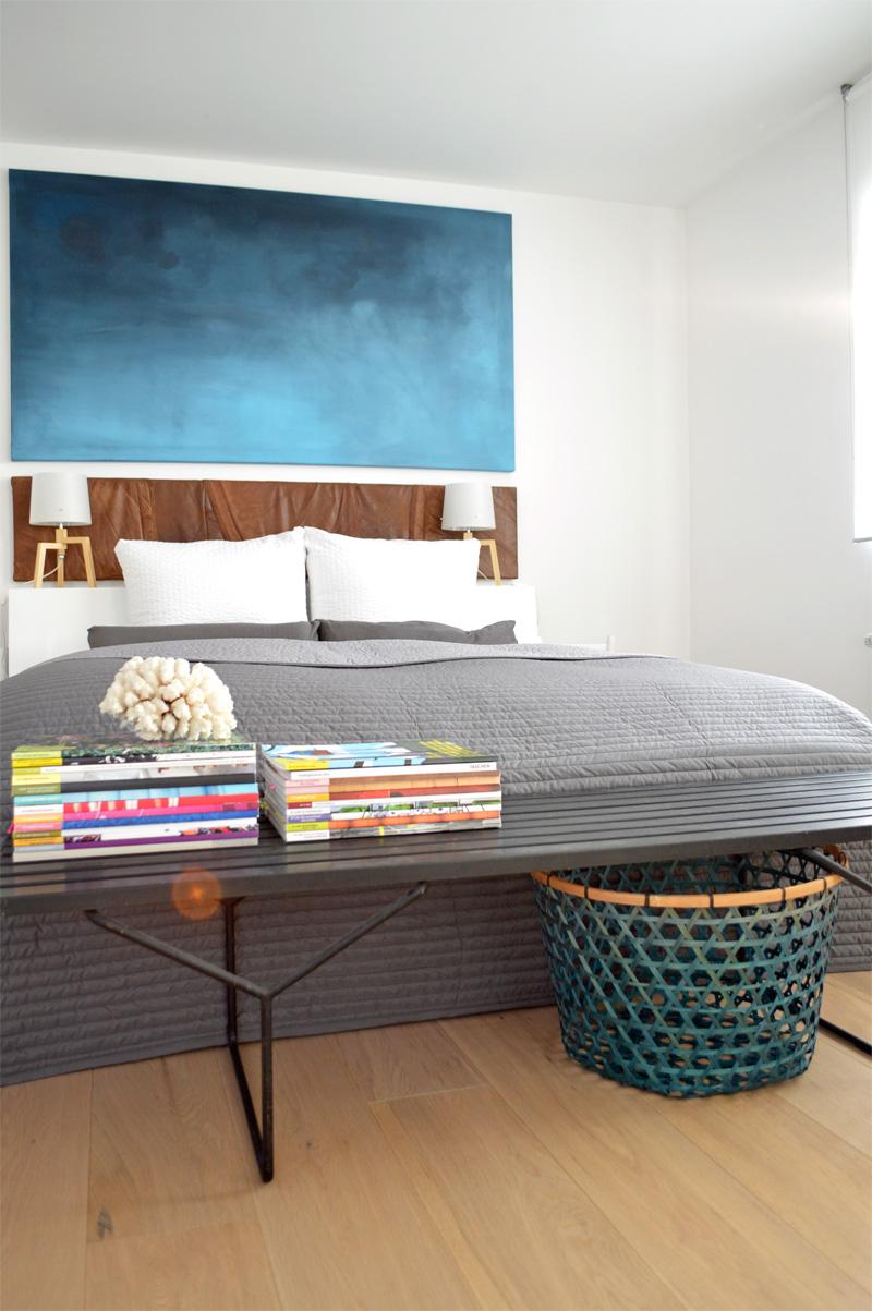 Schlafzimmer deko diy  Umstyling im Schlafzimmer - DIY Wandbild und Recyclingdesign - ICH ...