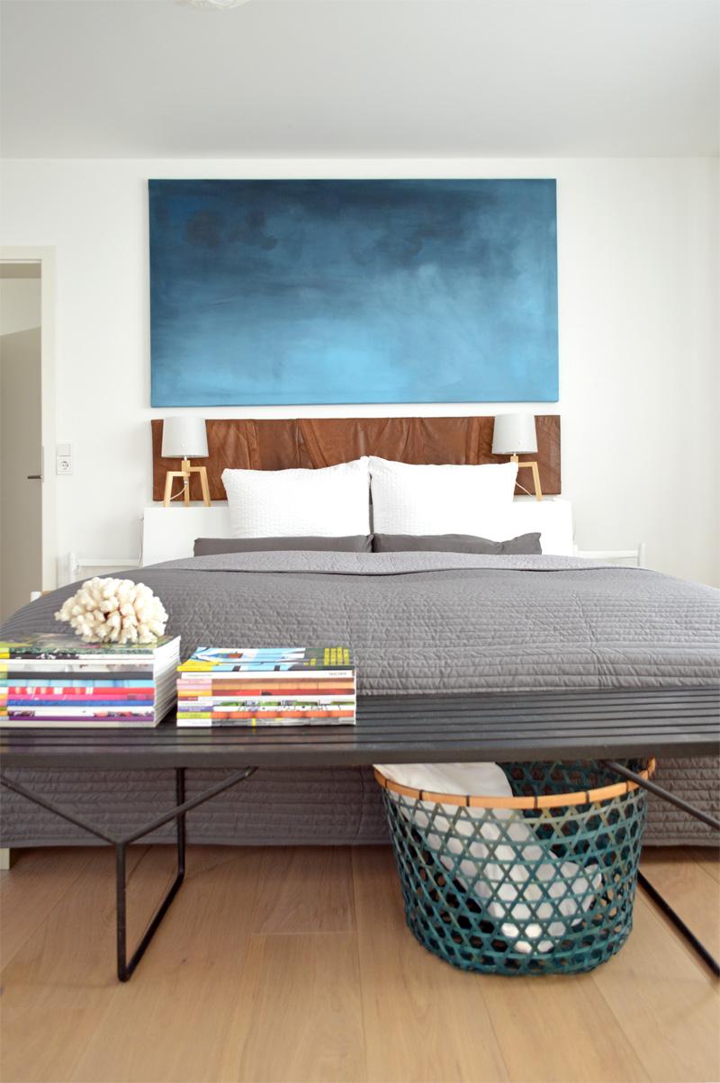 umstyling im schlafzimmer - diy wandbild und recyclingdesign - ich ... - Schlafzimmer Deko Diy