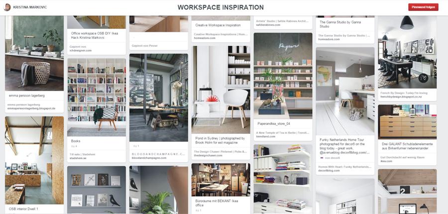 Pinterest Inspiration Arbeitszimmer Homeoffice Büro